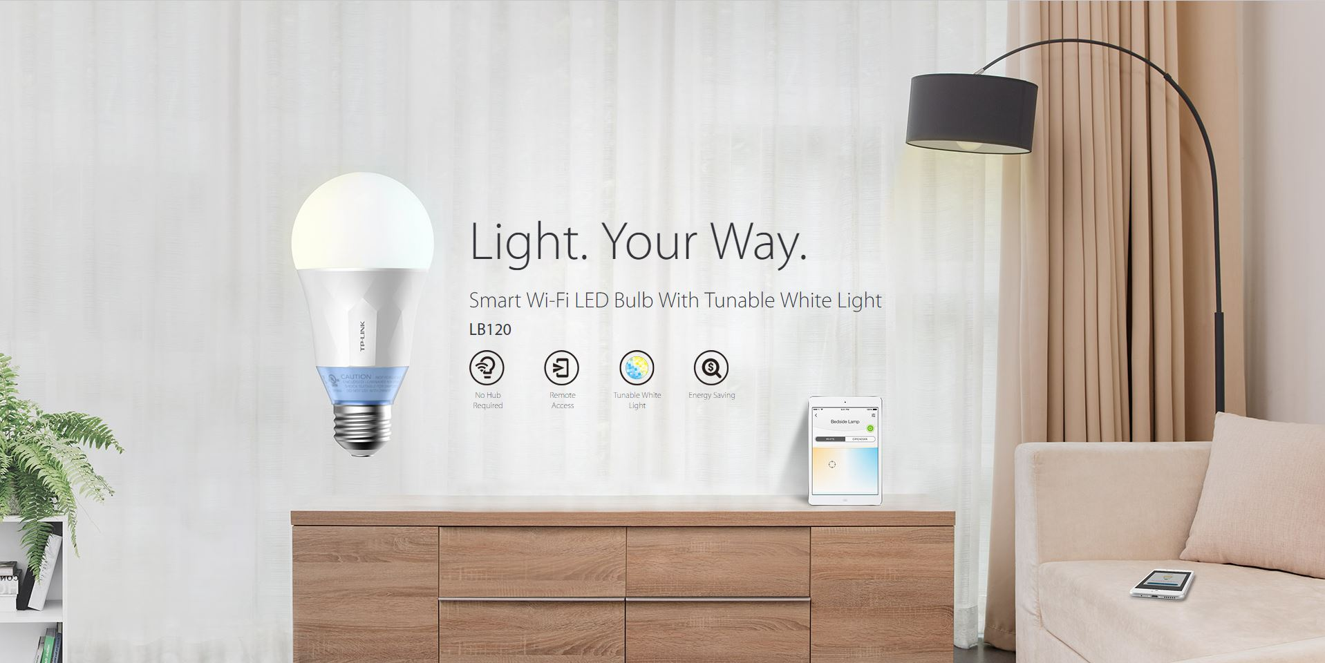 Smart Led TP-Link Bulb LB120 Review