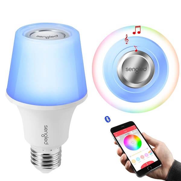 Sengle light bulb speaker