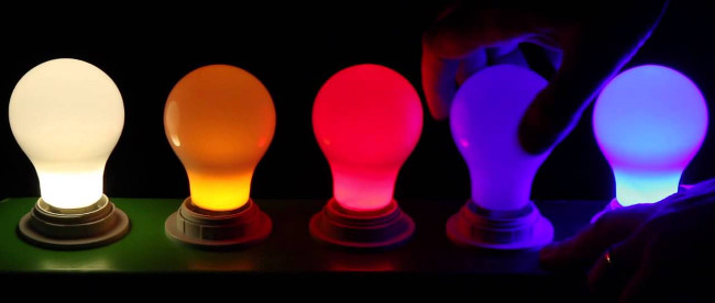 multi-color light bulbs