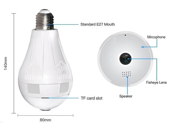 graneywell light bulb camera