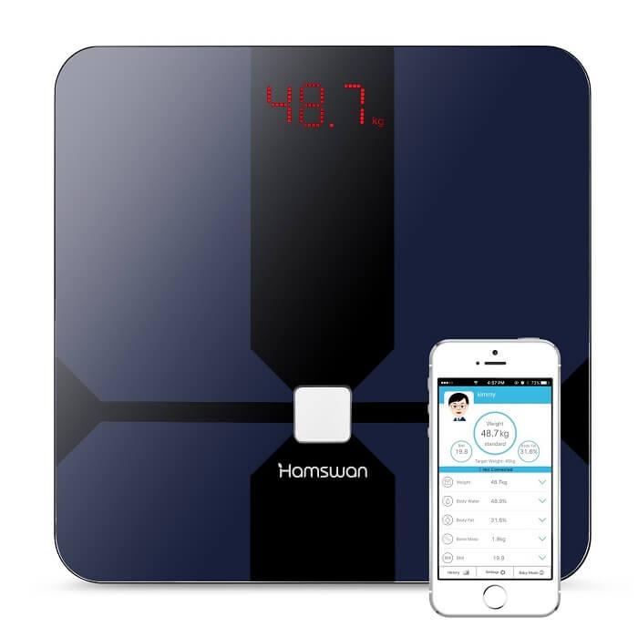 hamswan smart bathroom scale