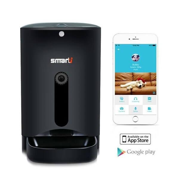 smartti automatic pet feeder