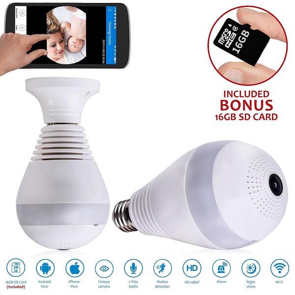 uc bulb light bulb camera