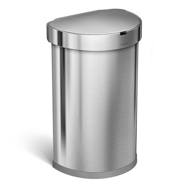 simplehuman automatic trash can