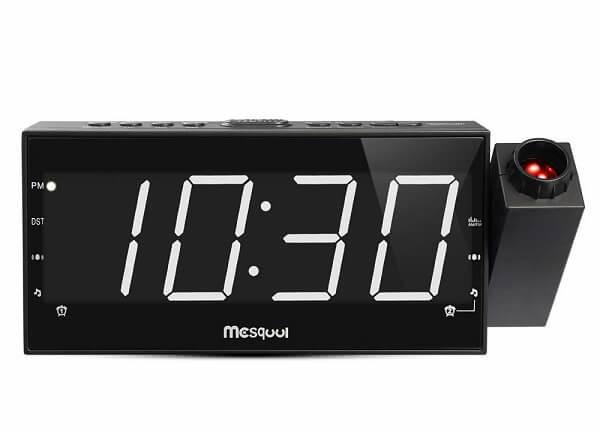 Mesqool smart projection clock
