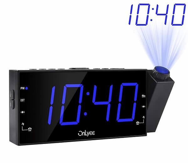Onlyee smart projection clock