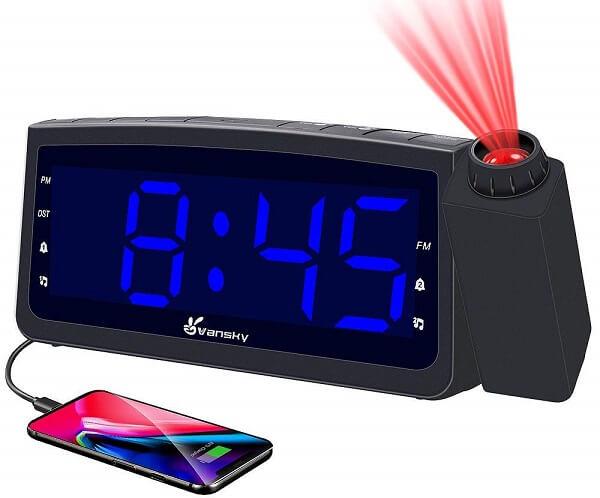 Vansky smart projection clock