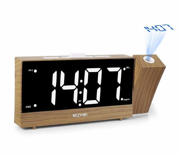 mizhmi smart projection clock