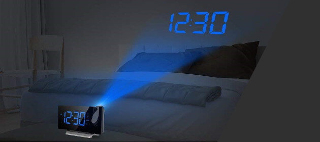 smart projection clock