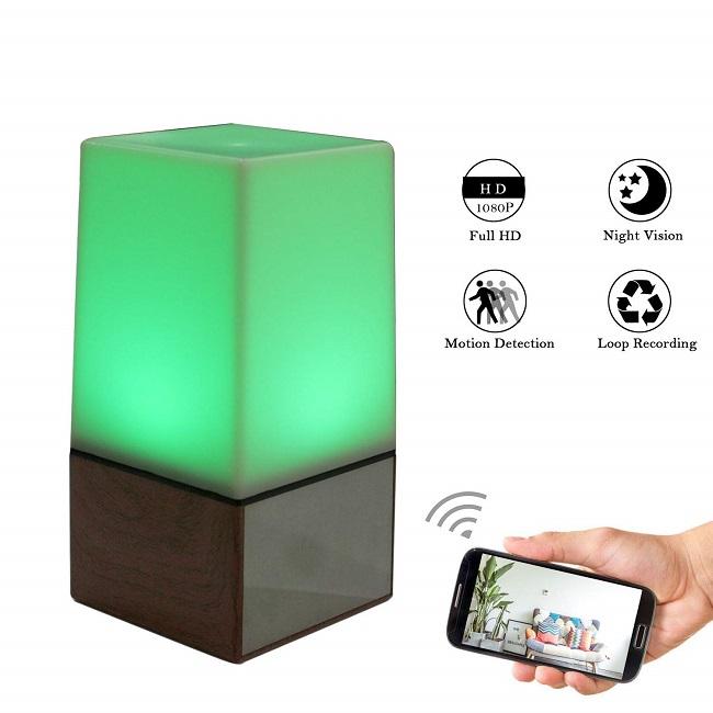 night light hidden camera solutions