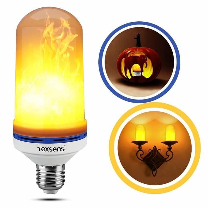 texens Flame Effect Light Bulb
