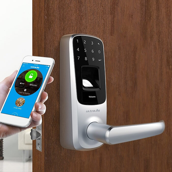 ultraloq wireless door lock