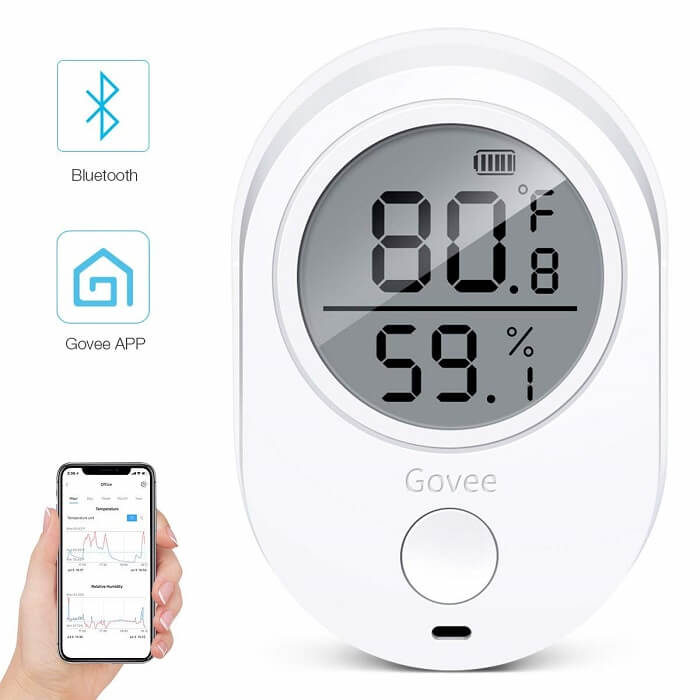 minger Temperature and Humidity Monitor