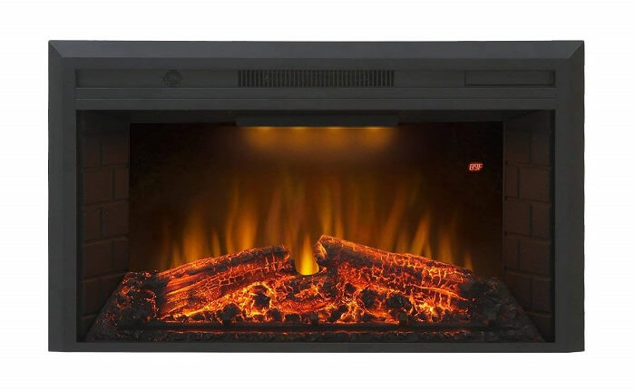 valuxhome electric fireplace with remote