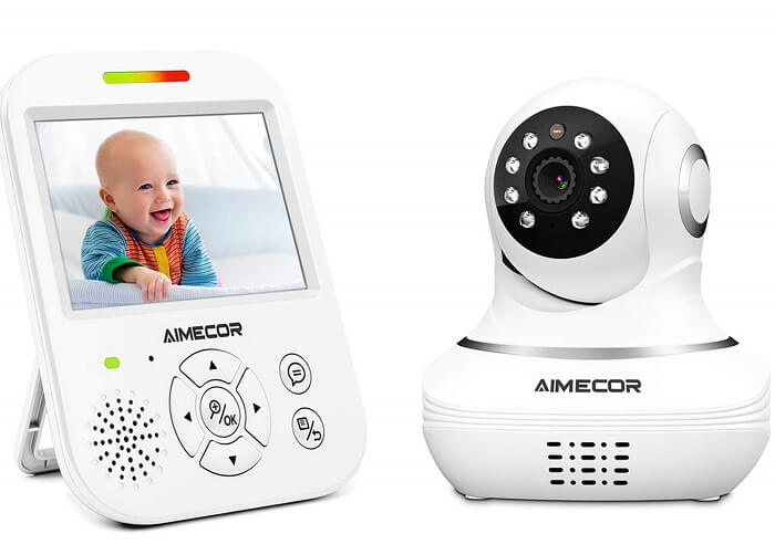 aimecor portable baby monitor