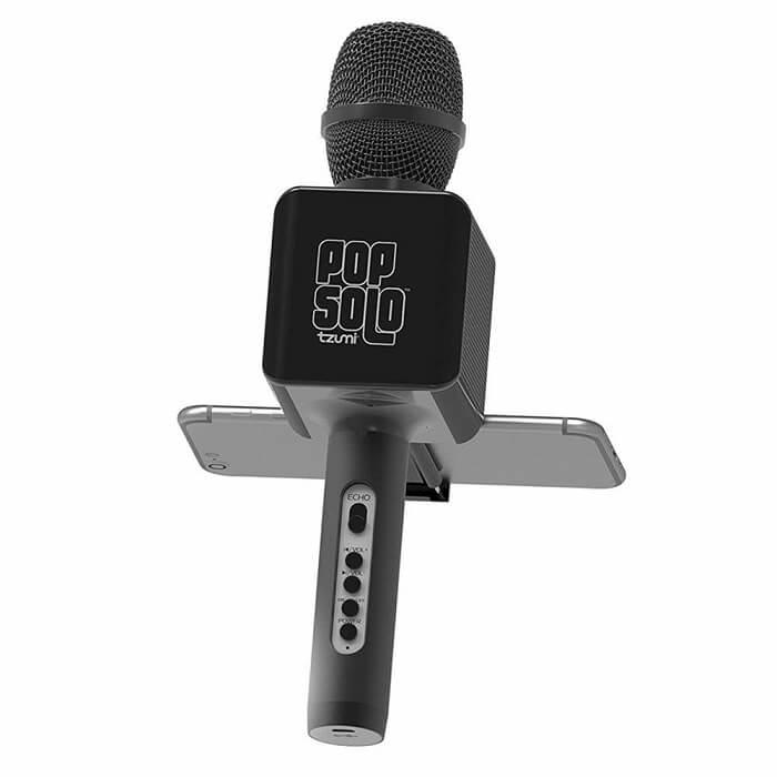 tzumi portable karaoke microphone