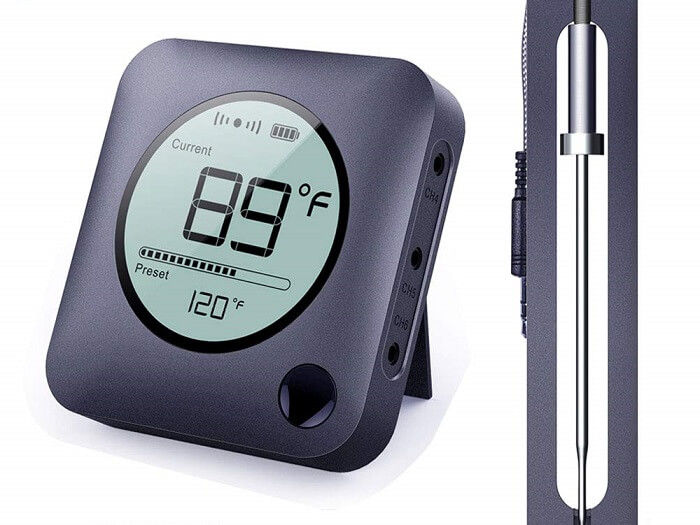 neeqi smart meat thermometer