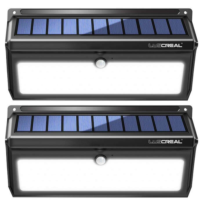 luscreal solar pir lights
