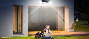 solar pir lights