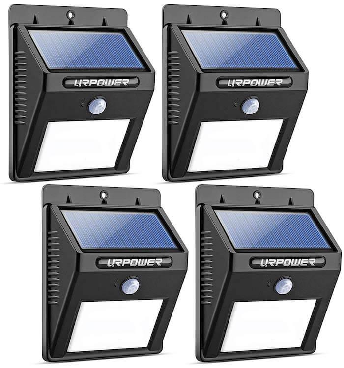 urpower solar pir lights