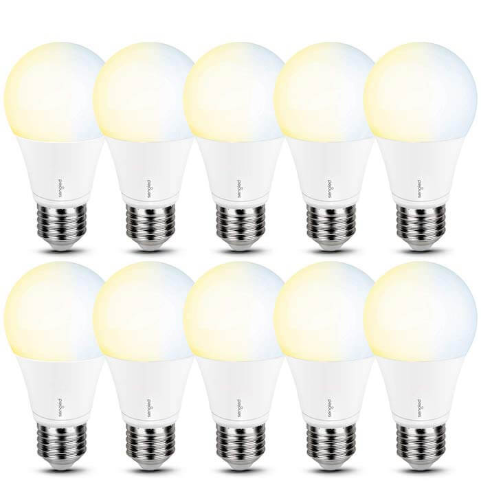 color temperature change modern light bulb