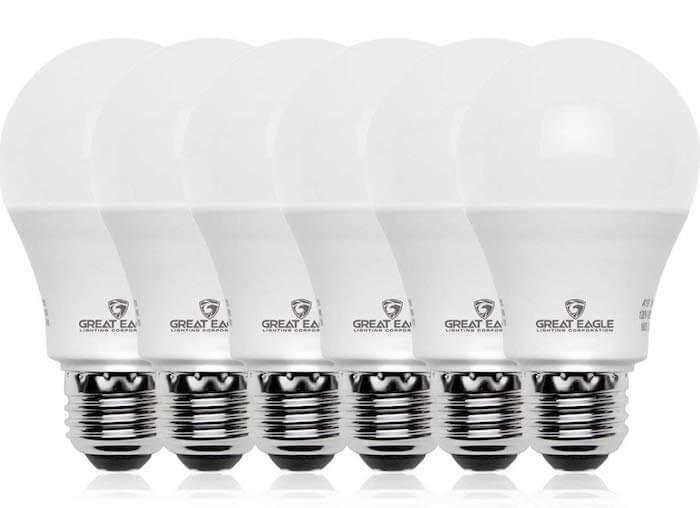 dimmable modern light bulb