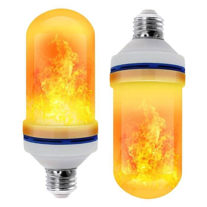 flame efect bulb modern light bulb