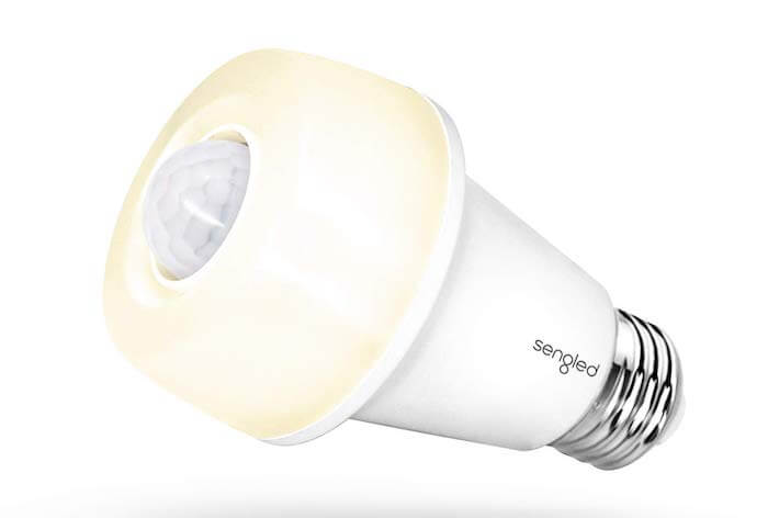 motion sensor modern light bulb