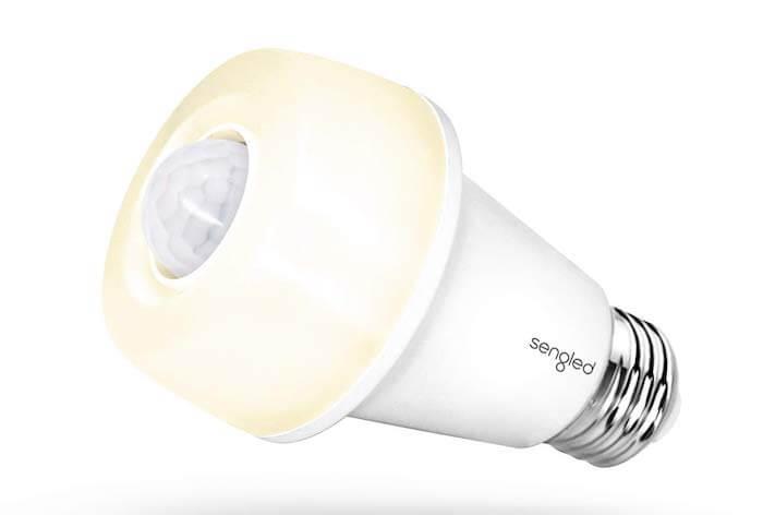 motion sensor modern light bulb