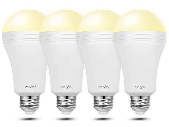 rechargable battery modern light bulb