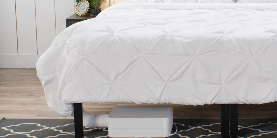 heating and cooling mattress pad
