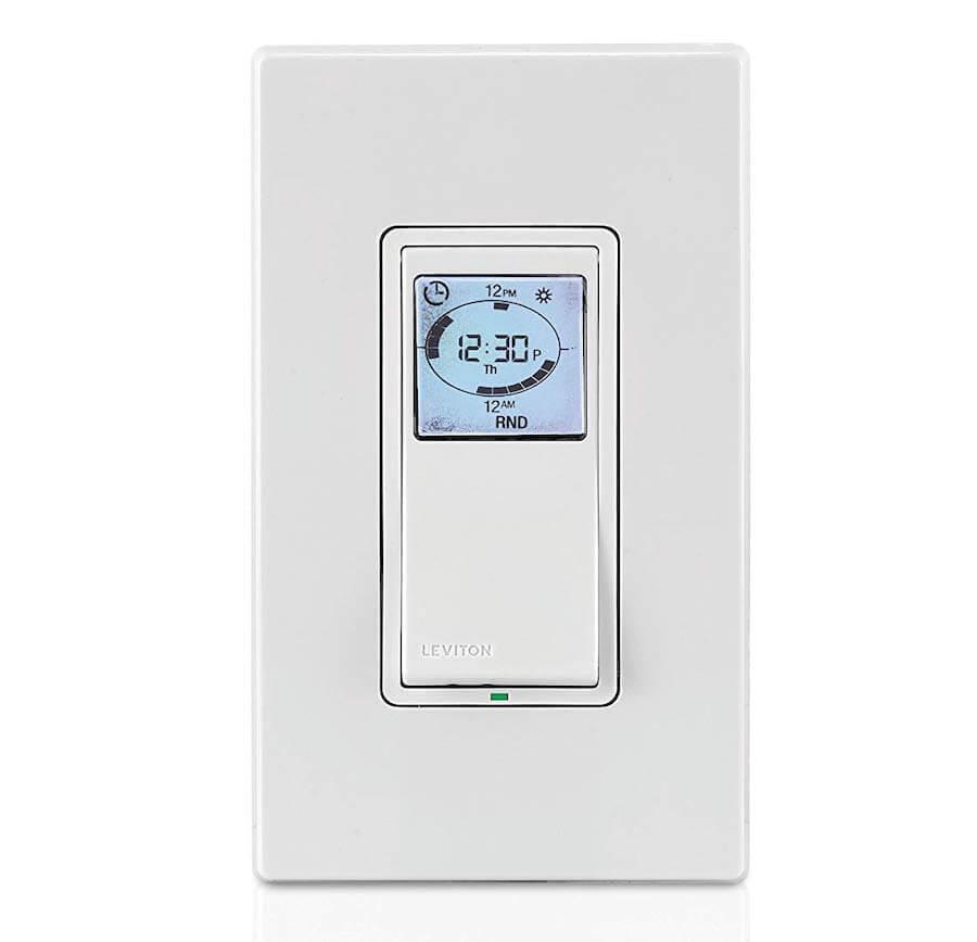 leviton digital wall switch timer