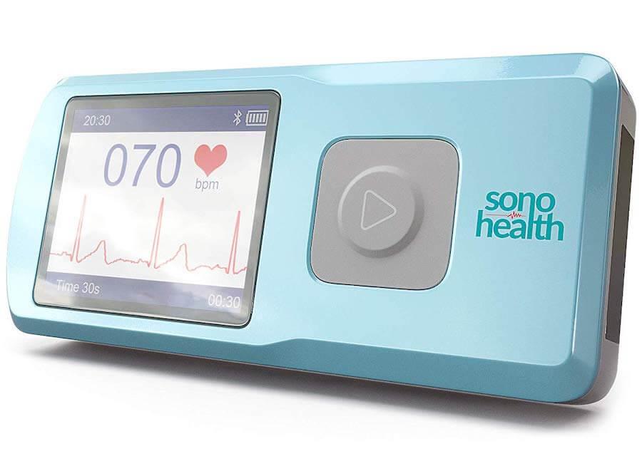 sonohealth portable ekg machine