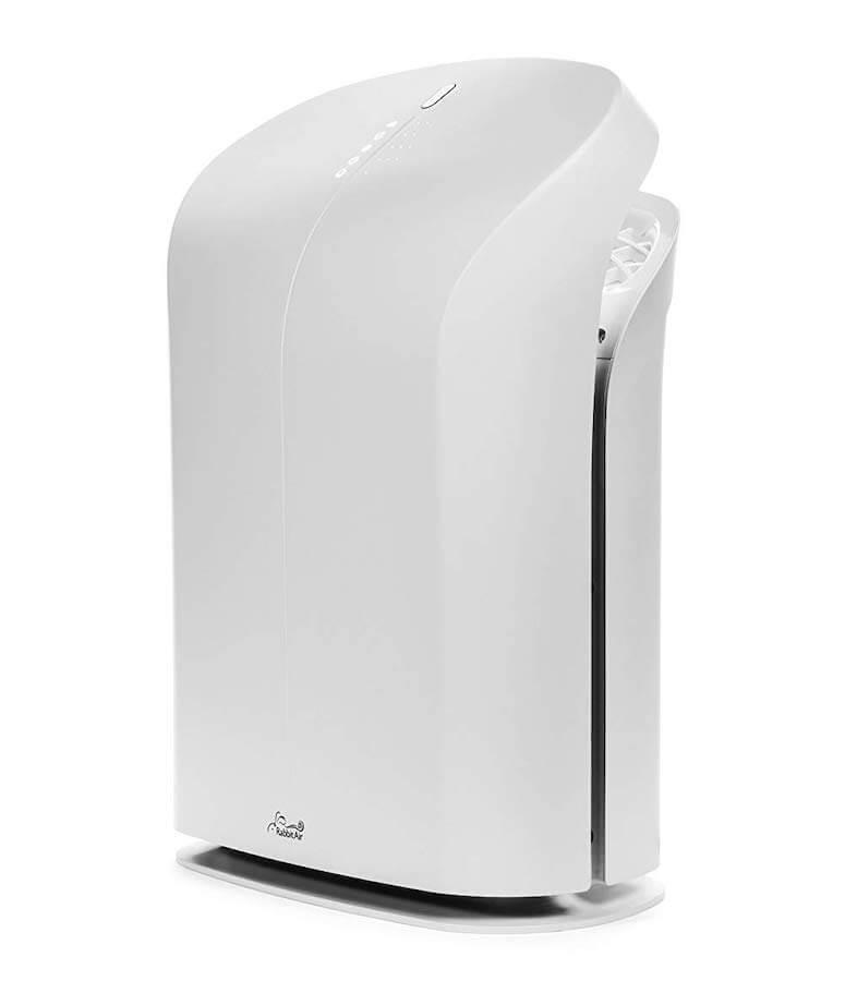 rabbitair silent air purifier