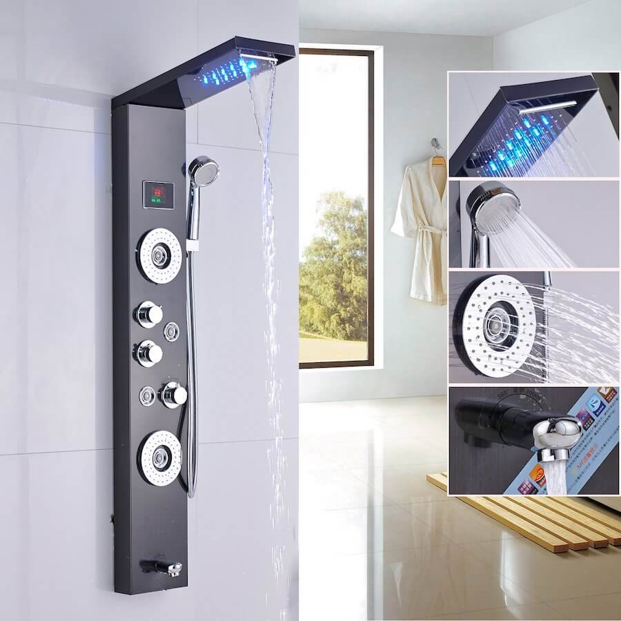 rozin smart shower system