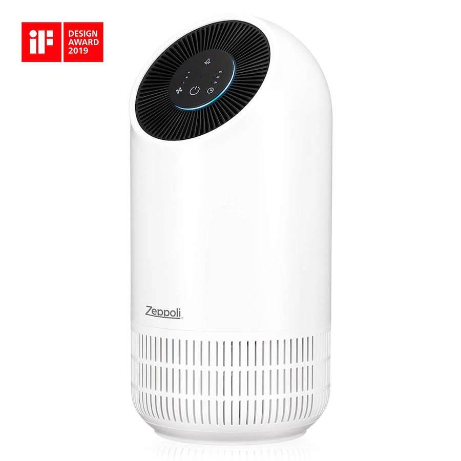 zeppoli silent air purifier
