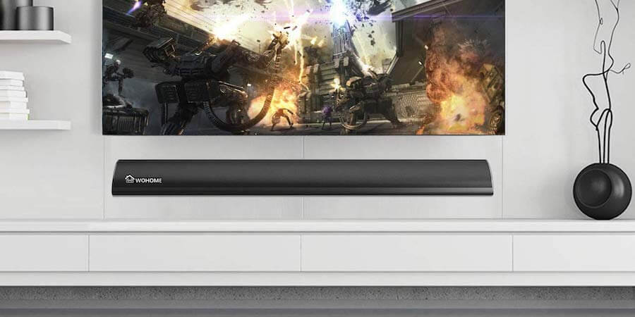 [In-depth review] Wohome TV Soundbar with Built-in Subwoofer
