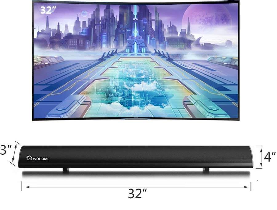 wohome soundbar with built in subwoofer2