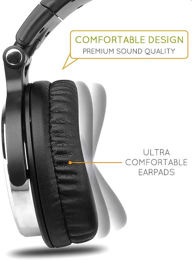 OneOdio Over Ear Headphones3