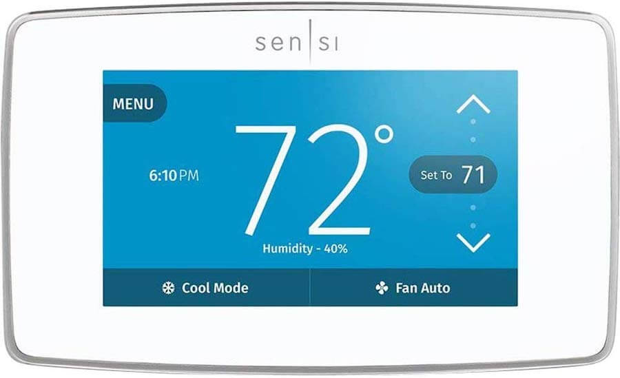 emerson wifi home thermostat
