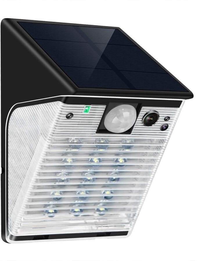 enster solar powered security camera