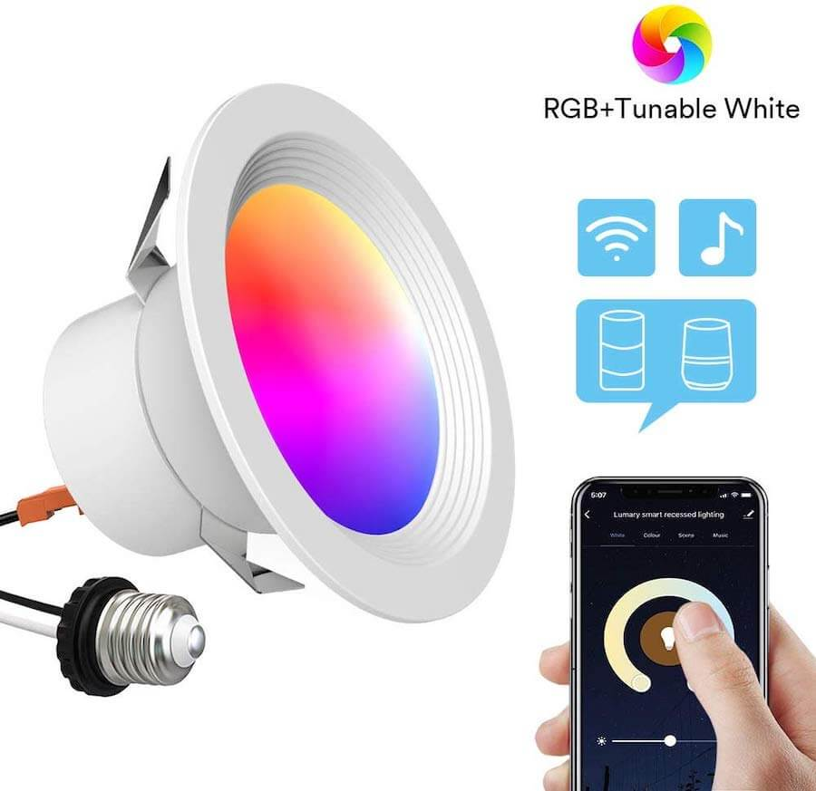 ilintek dimmable smart led downlight
