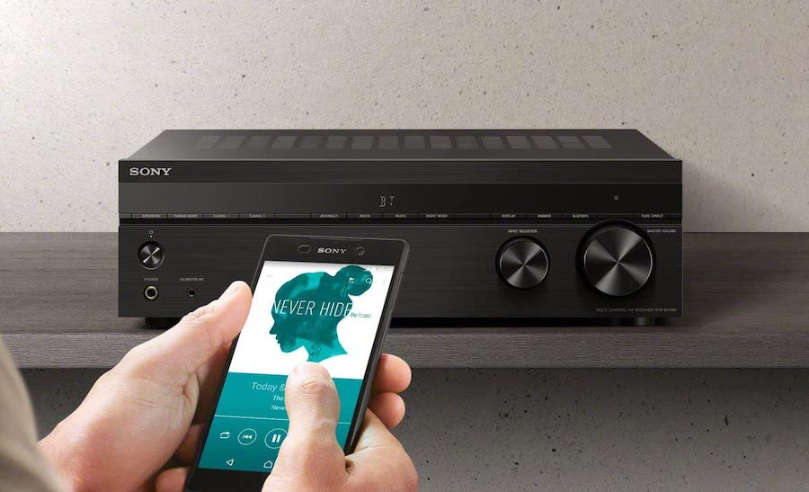 5 channel stereo receiver2