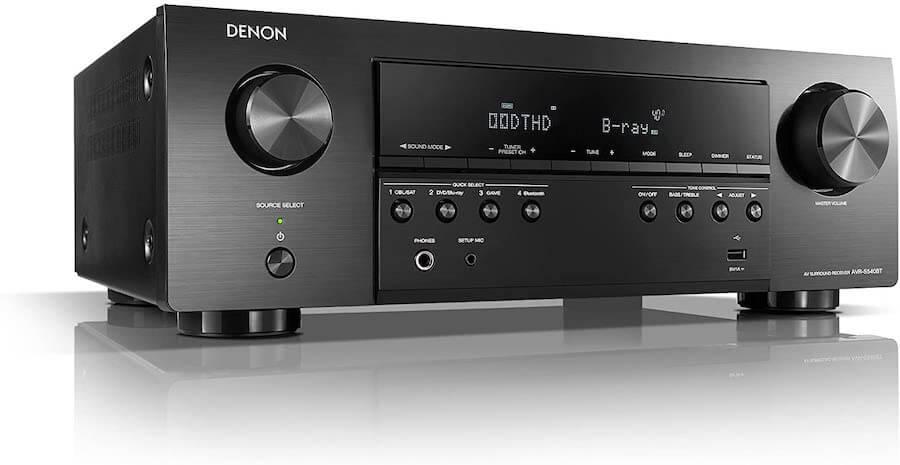 denon 5 channel stereo receiver