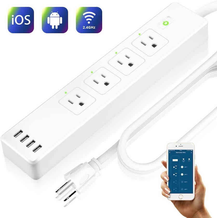 larkkey wi-fi smart power strip