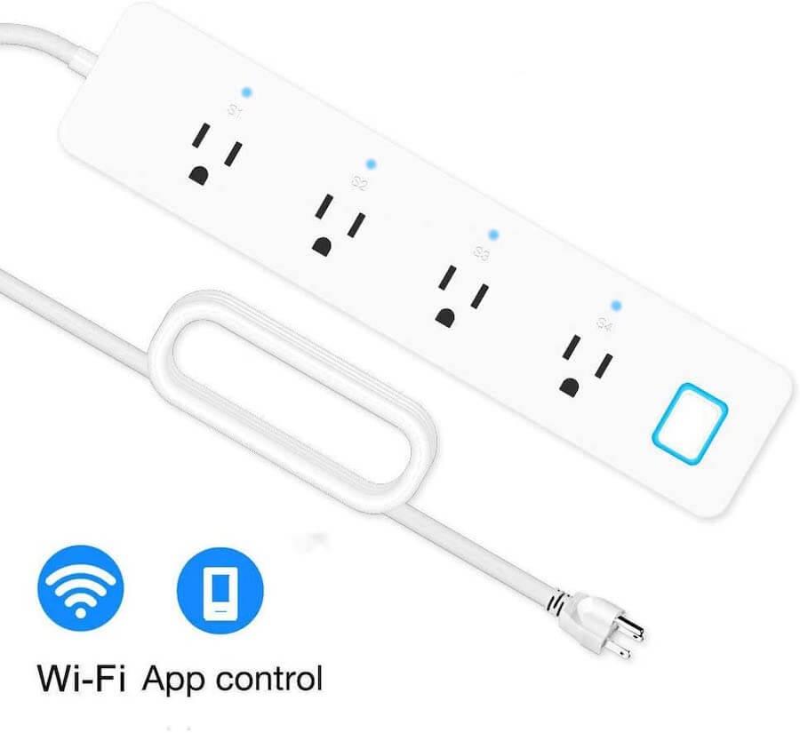 linganzh wi-fi smart power strip