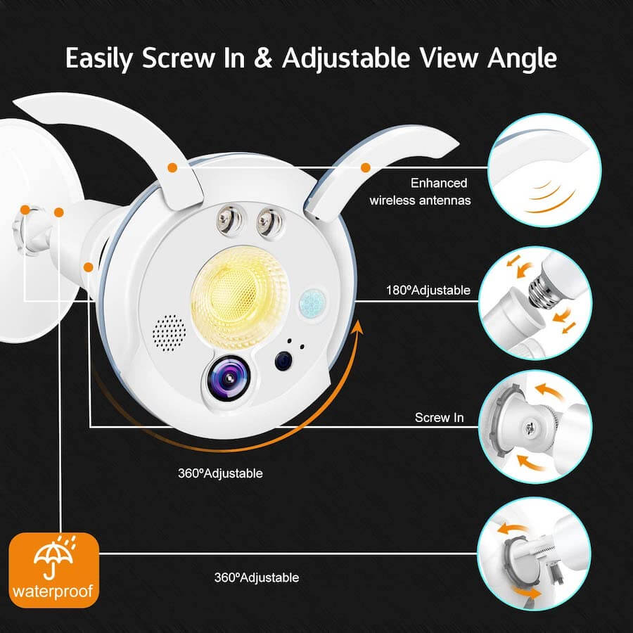 sengled best outdoor light bulb camera2