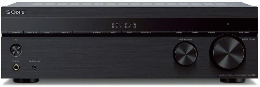 sony 5 channel stereo receiver