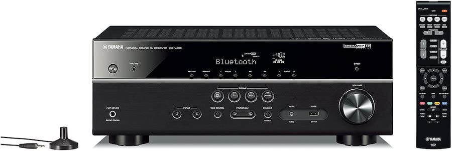 yamaha 5 channel stereo receiver