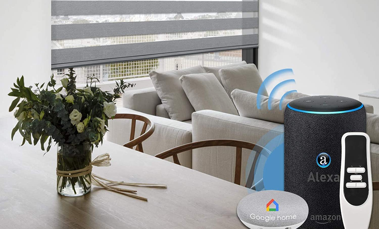 How To Pair Smart Blinds With Alexa and Google Home
